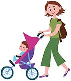 乳幼児をお連れの方も安心|交通事故治療